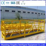 Gondole de levage de la plate-forme de travail d'usine de Shandong Zlp630/800