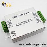 Regulador de la muestra Amplifier/LED de la C.C. 5V/12/24V RGB de los canales del aluminio 3