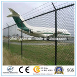 Y Post PVC Coated Airport Fence avec rasoir Barbed Wire