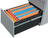 Sob o suporte do móbil da gaveta do metal 3 da mesa de escritório