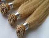 Trama natural do cabelo da onda da qualidade superior de 100%