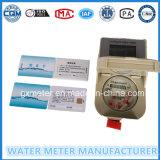 Het Type van Kaart van de Meter van het water IC/RF, de Slimme Vooruitbetaalde Meter van het Water