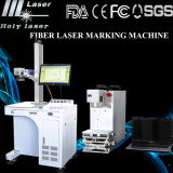 Machine d'inscription de découpage de laser de tôle de commande numérique par ordinateur, machine de gravure de découpage de laser de fibre