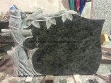 Ontwerpen de Ernstige Tellers van het graniet Uw Eigen Grafzerk van de Juwelen van de Crematie van de Gedenktekens van het Brons van het Graniet