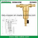 Pressão de bronze automática que reduz a válvula da água (AV-B-1)