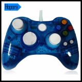 Blue Wired Transparent Controller para xBox 360 Console