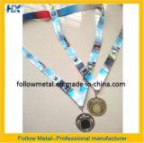 Medalla de encargo con el espacio en blanco en la cinta media y termal de la transferencia