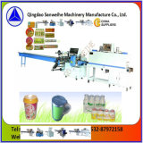 Empaquetadora del encogimiento de las botellas del animal doméstico de la fabricación de China