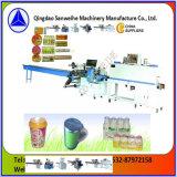 Fabrication de machine à emballer de rétrécissement de bouteilles d'animal familier