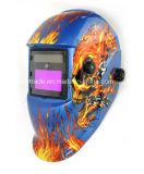 Elettronica automatica di energia solare che scurisce il casco di sicurezza del cannello per saldare di TIG per il saldatore di MMA TIG