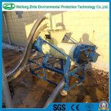 A galinha/porco/gado/o estrume/desperdício da vaca secam a máquina que seca o separador líquido contínuo