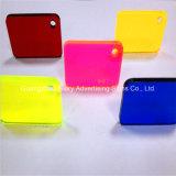 Folha de acrílico de molde de plexiglass de plástico anti-UV PMMA