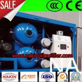 Máquina de alta tecnología de la filtración del petróleo, purificador de petróleo del transformador del vacío