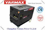 Diesel van het Type van Yarmax Ym6500 Economische Stille Generator 5kVA 186 230V