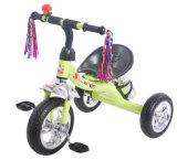 子供の三輪車3の車輪のペダルのバイクの赤ん坊の乗車