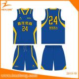 Bon basket-ball Jersey de sublimation de teinture de modèle de vente chaude