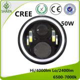 L'indicatore luminoso dell'automobile di prezzi di fabbrica LED impermeabilizza 7 '' rotondi per la jeep