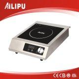 Cocina de inducción comercial con tacto y perilla de control de Sm-A80