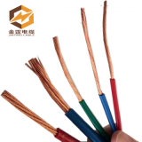 Cable eléctrico, cable plano flexible, cable plano del PVC (300/500V 2*2.5)