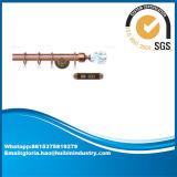 Cortina Rod del hardware de poste de la cortina de los materiales del hierro