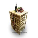 108 crémaillère en bois de vin de meubles de la bouteille DIY pour la mémoire à la maison