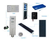 Luz de rua solar verde toda da energia 40W 50W 60W 70W 80W 100W em uma