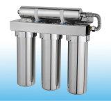 Der 3 Stadiums-Edelstahl-Wasser-Reinigungsapparat kombinierte mit Magnetisierer, um aufzuspalten und betätigte das Quellwasser
