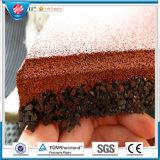 Плитки напольной резиновый спортивной площадки плитки плитки 500mm*500mmcolorful напольной резиновый резиновый, блокируя резиновый плитки