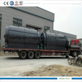 erhalten Plastikmaschine der pyrolyse-10ton Kinetik des Öl-50-90%
