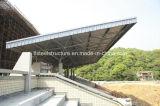 前設計された鉄骨フレームの建物のおおいの小屋