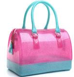 Sac chaud de sac à main en caoutchouc de silicones de couleur de sucrerie de vente