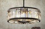 Lampe en cristal ronde de lustre (WHG-810)