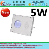 5W Integrated Solar LED Light Garantie de 5 ans