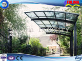 ISO 9001の軽い鉄骨フレームのおおいか日除けまたはCarport (SSW-C-003)