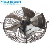 Ventilador axial de enfriamiento del motor externo del rotor de la ventilación