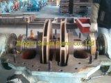 Bomba dos estágios dos impulsores de bronze multi com motor de alta tensão