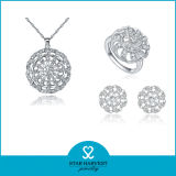 Europeo 925 Sterling Silver Jewelry Set di modo per Discount (J-0059)