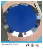 L'acier inoxydable Ss316 de la norme ANSI B16.5 a modifié la bride borgne de pipe