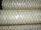 Fábrica sextavada do engranzamento de fio de Galvanized/PVC
