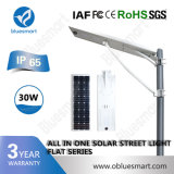 Im Freien Solar-LED Straßenlaterne des Sonnemmeßfühler-Licht-15W-120W
