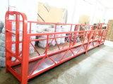 マストの構築移動可能な鋼鉄単一アクセス作業プラットホーム
