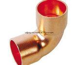 Alta qualidade encaixe do cobre do cotovelo do cobre de 90 graus
