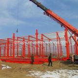 Atelier préfabriqué de structure métallique
