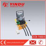 3개의 관 솔레노이드 벨브 전기 유압 펌프 (ZCB-700D3)