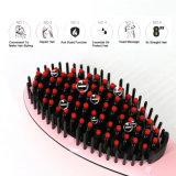 Straightener elétrico do cabelo da escova do LCD da etiqueta confidencial