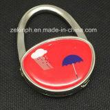Kundenspezifisches Shape Printing Logo Bag Hanger für Souvenirs