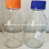 Frasco de reagente do Borosilicate com tampão de parafuso