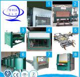 Cadena de producción de la madera contrachapada que hace la máquina