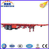 2axle 40FT Container Semi Flatbed Utility Trailer, High Bed Truck Cargo Trailer