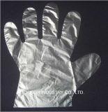 Устранимые перчатки LDPE пластичные для сервиса связанного с питанием